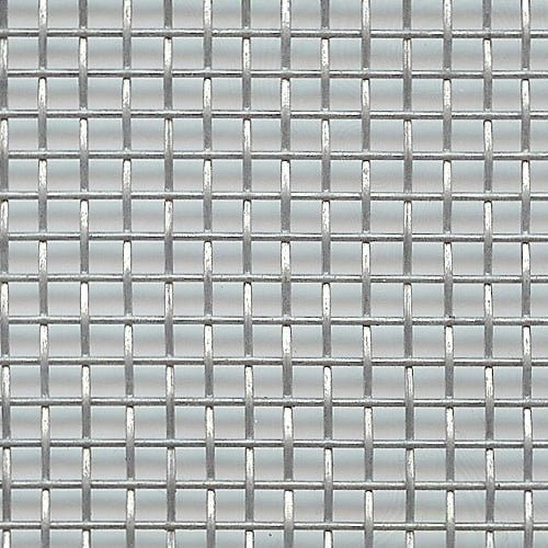 Galvanised Steel woven wire mesh