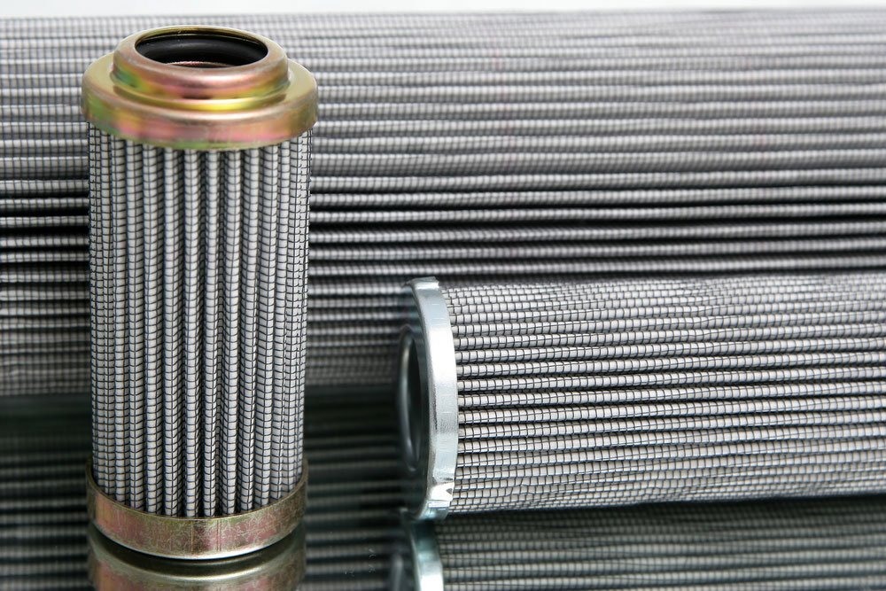 Wire mesh hydraulic filters
